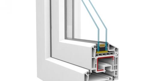 Műanyag ablak nyílászáró - Salamander Brügmann AD 73