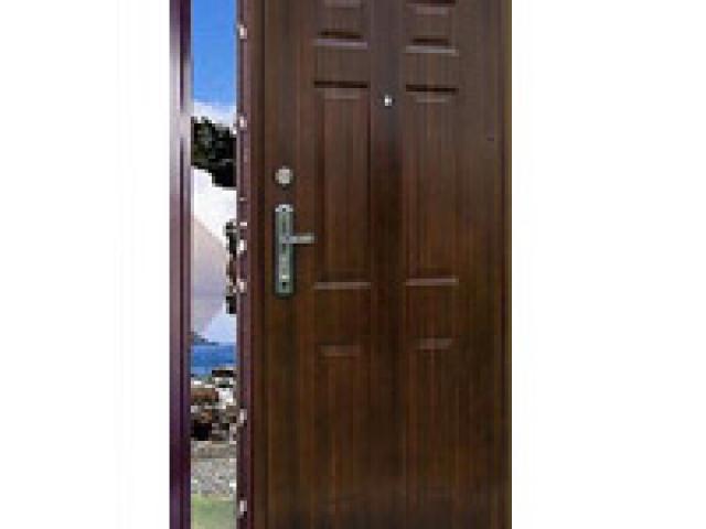Műanyag és fa nyílászárók – Biztonsági ajtó